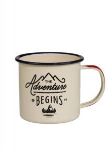 Mugg i emalj – Adventure