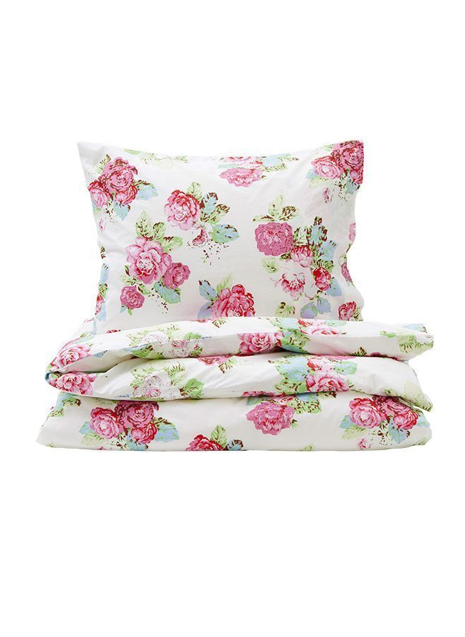 British Rose Pink påslakan från Leilas Sweet Home Collection