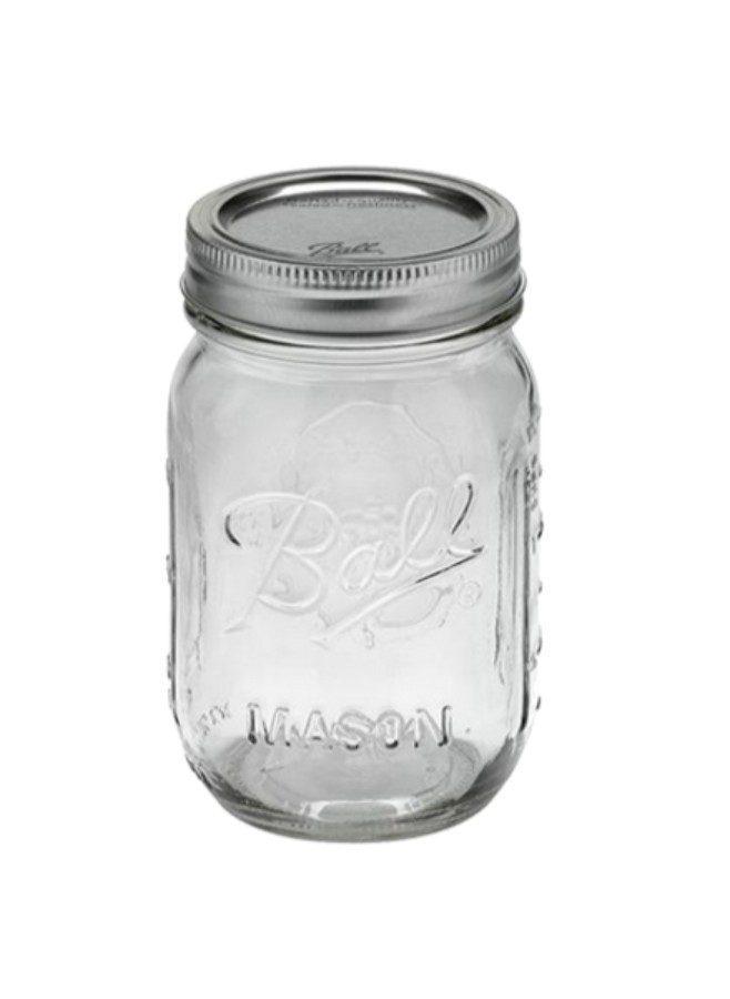 Ball mason jar regular 12 pack