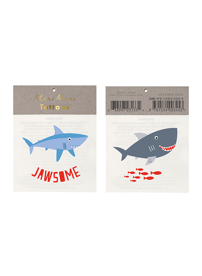 Tatueringar med hajar