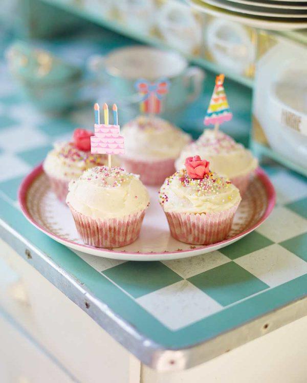 Klassiska cupcakes