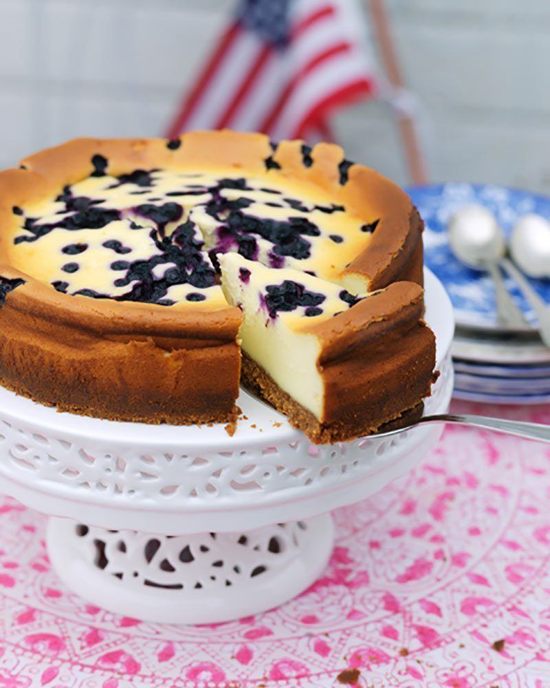 New York Blueberry cheesecake