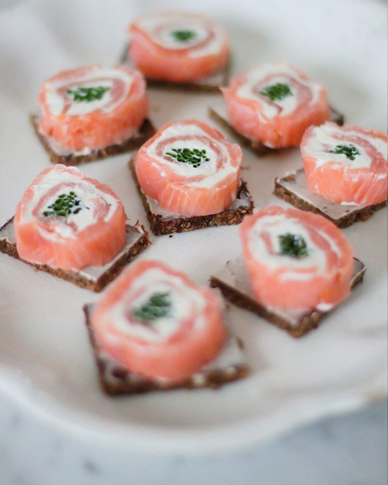 New york salmon roll