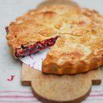 Twin peak cherry pie
