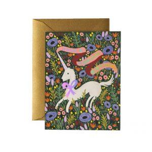 Kort Unicorn Magical Birthday