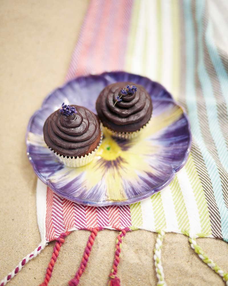 choklad-och-lavendelcupcakes