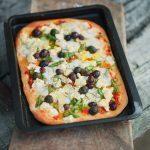Pizza med sparris