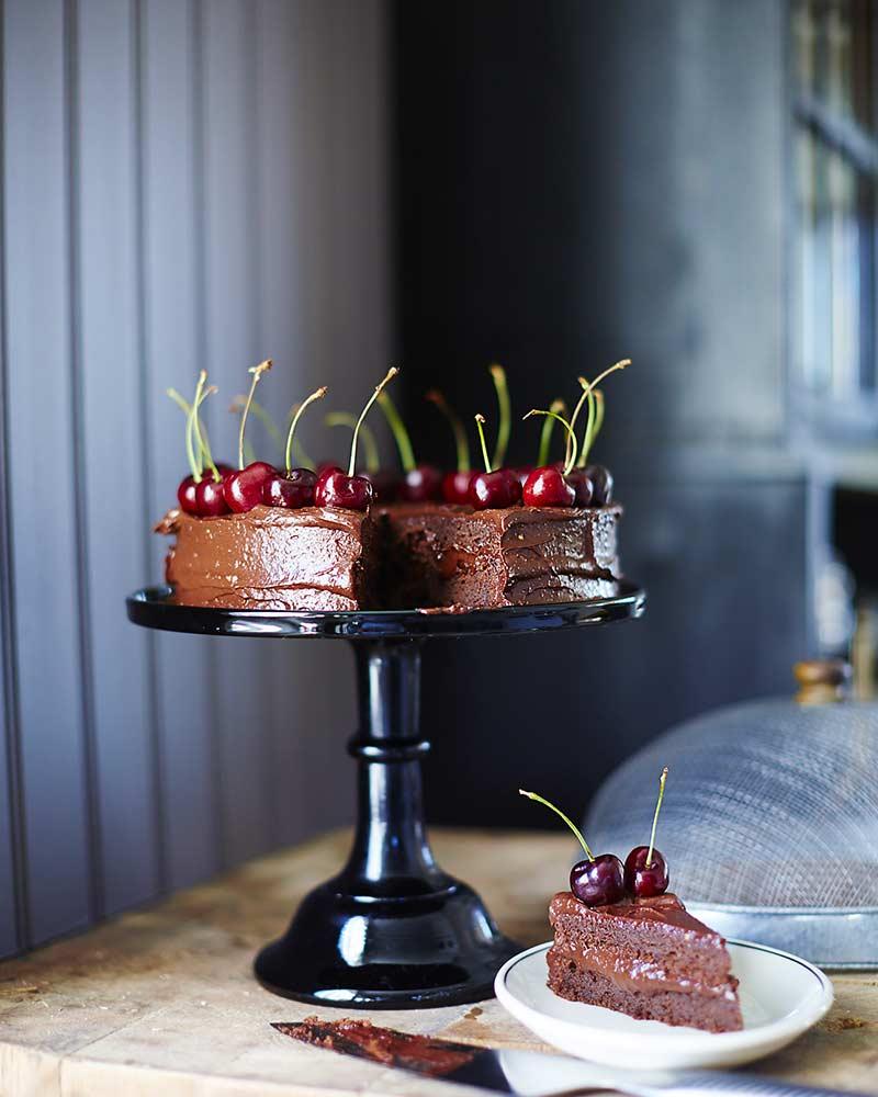 recept Glutenfri chokladtårta