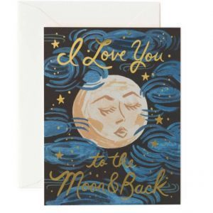 Kort – I love you to the moon and back