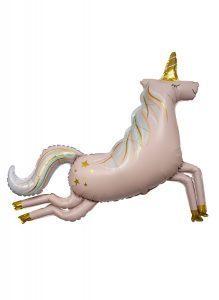 Folieballong rosa Unicorn