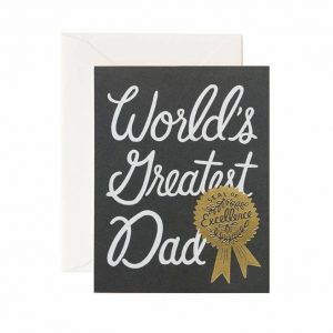Kort – World´s greatest dad card
