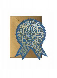 Kort – You´re the best card