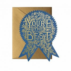 Kort – You´re the best card – Rifle Paper Co