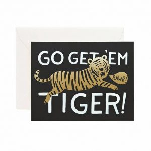 Kort – Go get em tiger card – Rifle Paper Co