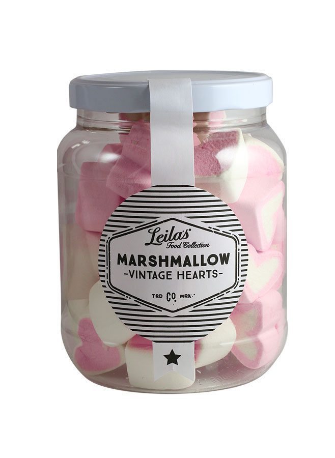 Leilas Marshmallows Vintage Hearts
