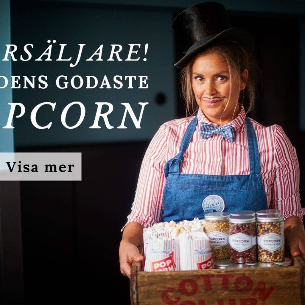Leilas popcorn - olika färger