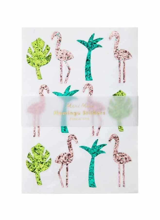 Klisteretiketter Flamingo
