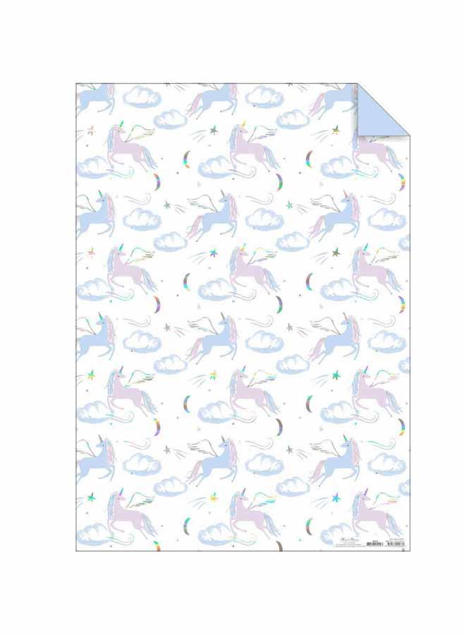 Presentpapper – Unicorn
