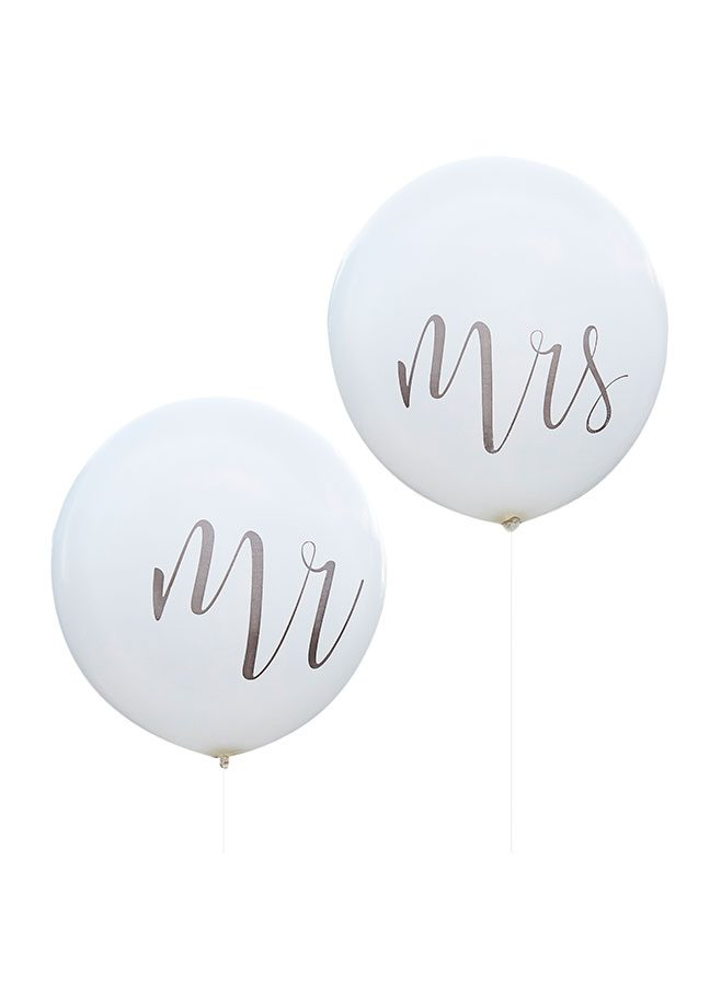 Ballonger Mr and Mrs 90 cm