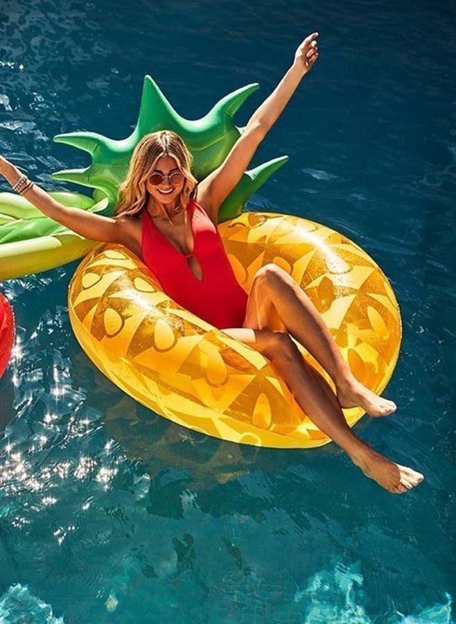Badmadrass Ananas - Sunny Life