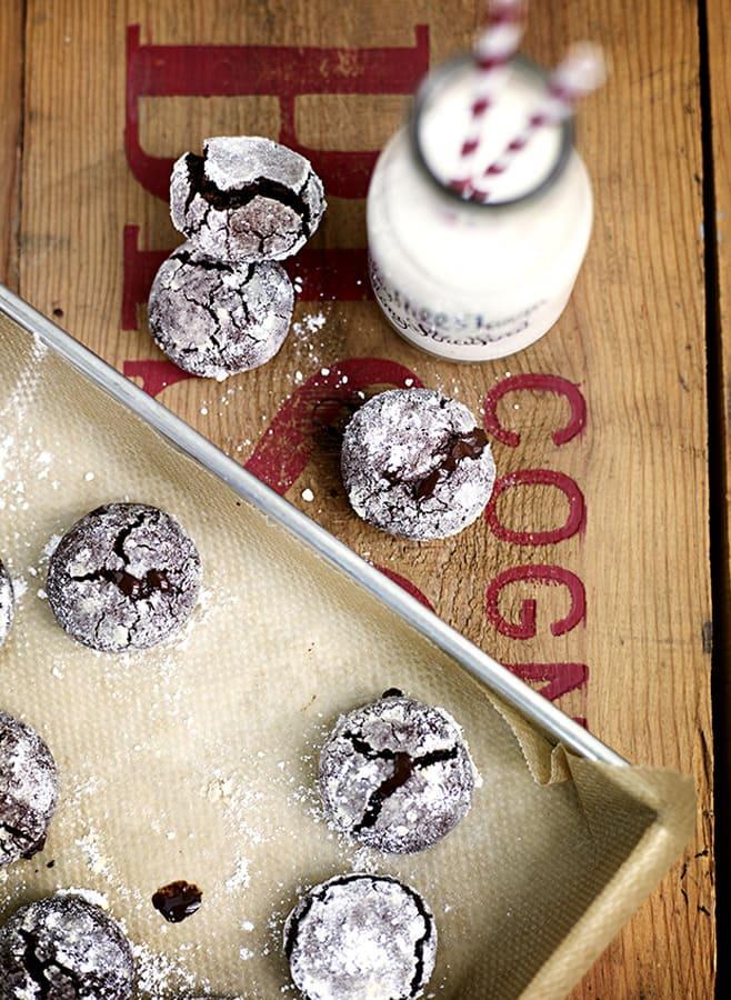 Foto på Amerikanska chokladkakor recept Leila Lindholm