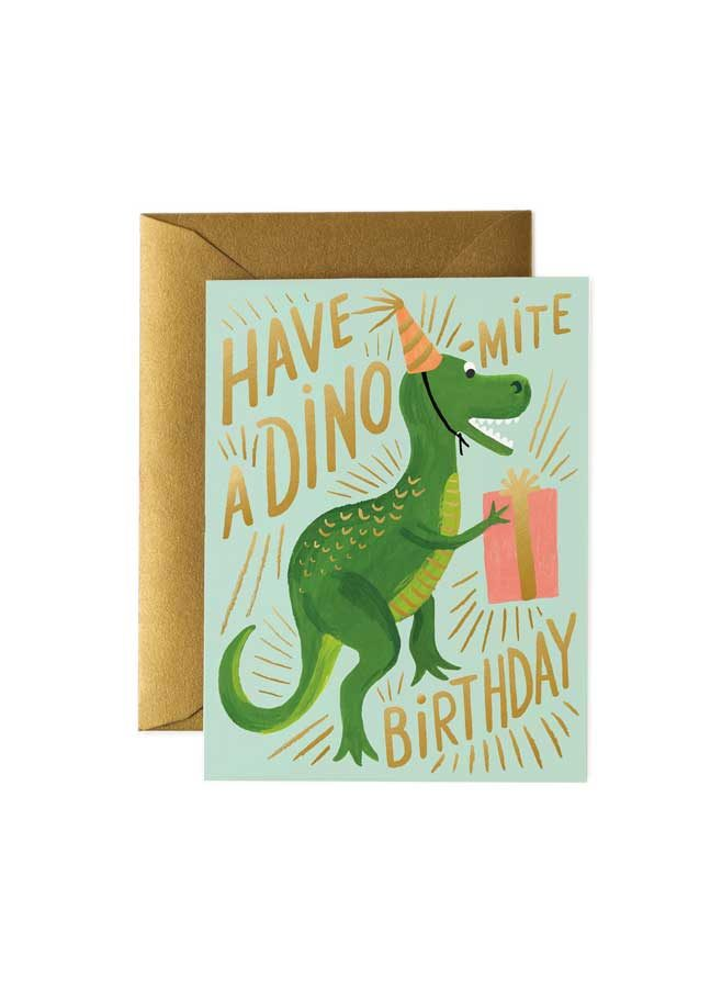 Kort Dino Rifle Paper Co
