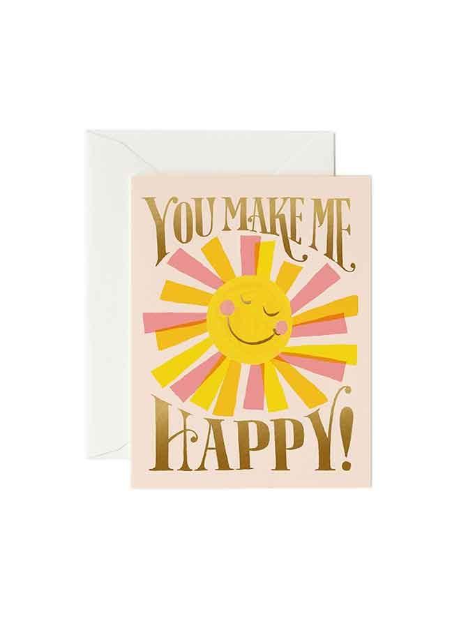 Kort You make me happy Rifle Paper Co