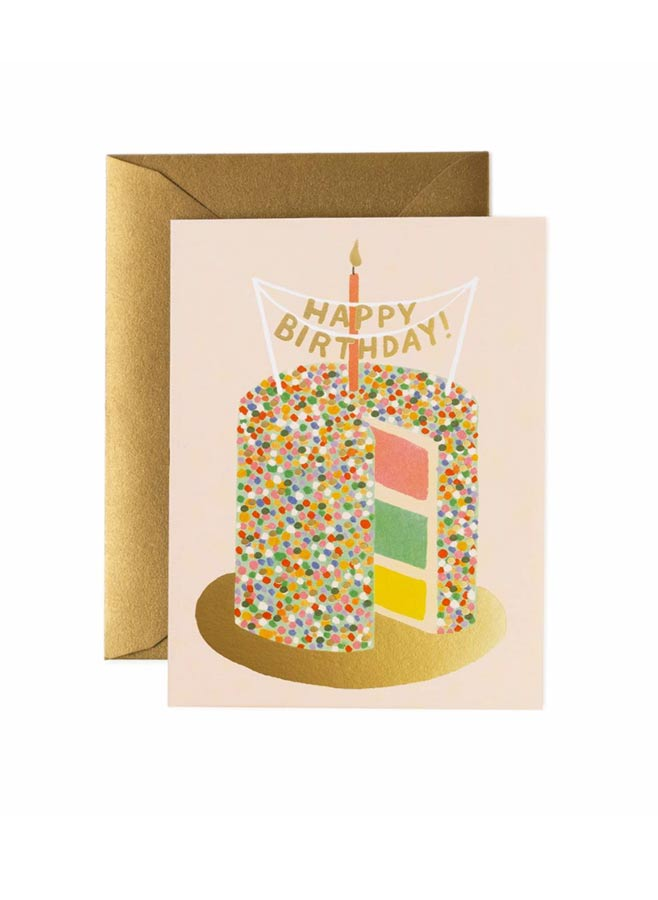 Layer cake card Rifle paper co