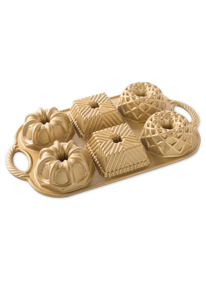Geo Bundtlette sockerkaksform från Nordic Ware