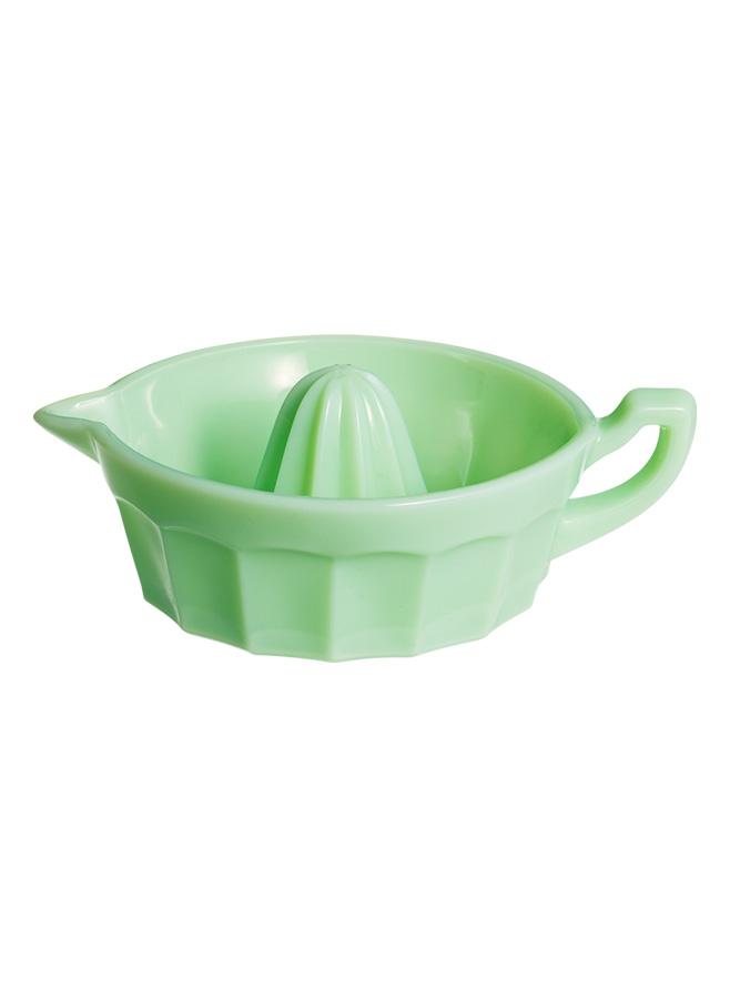Juicepress i pressglas grön