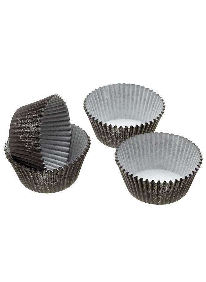 Muffinsformar med spindelnät