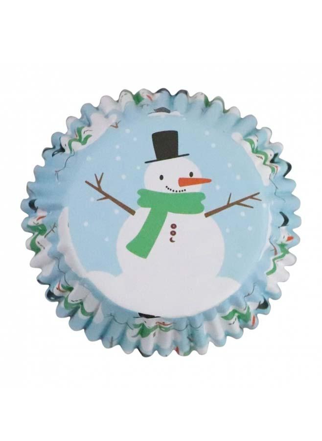 Muffinsformar Jul snögubbe Bakform PME