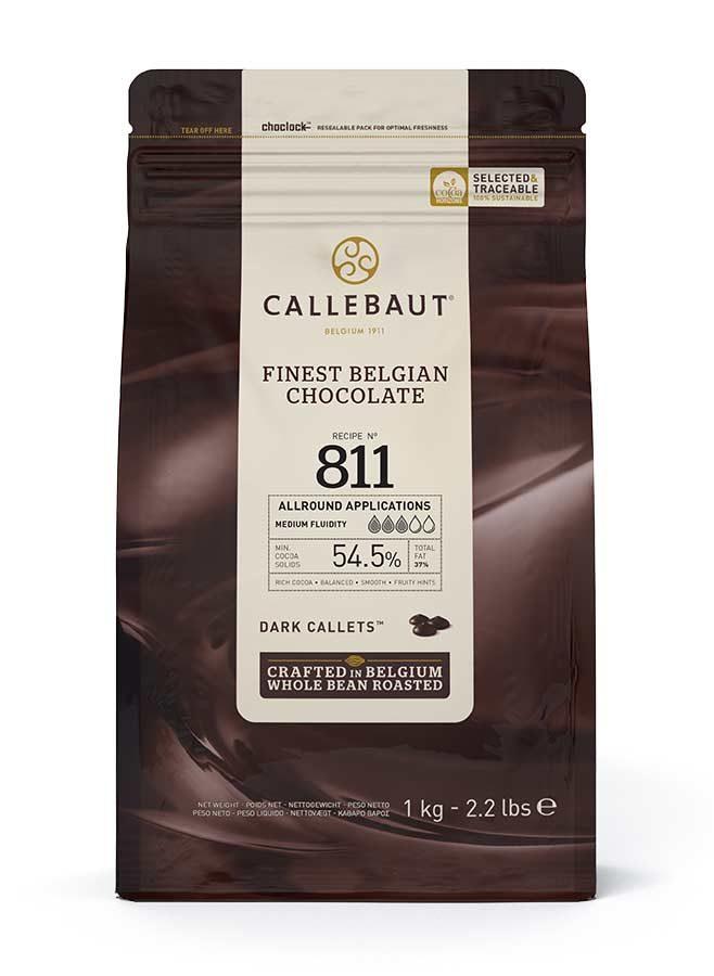 Mörk choklad Callebaut Belgisk Choklad 1 kg