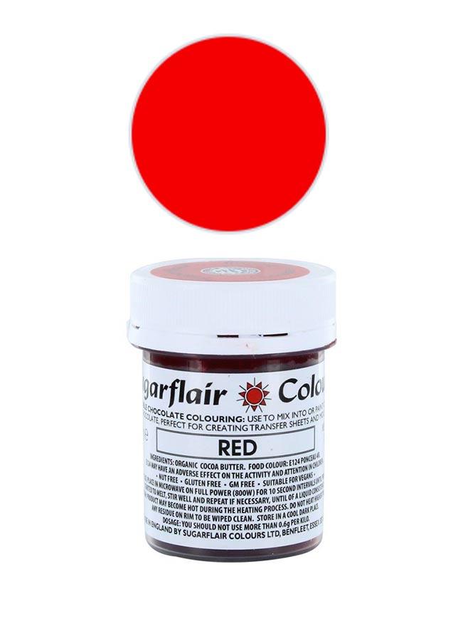 Chokladfärg röd