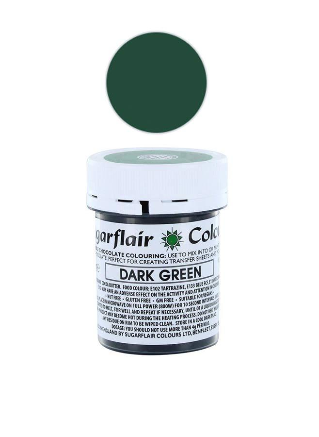 Chokladfärg grön
