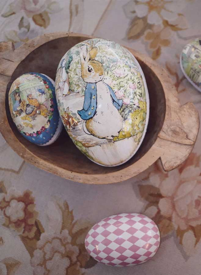 Peter rabbit påskägg