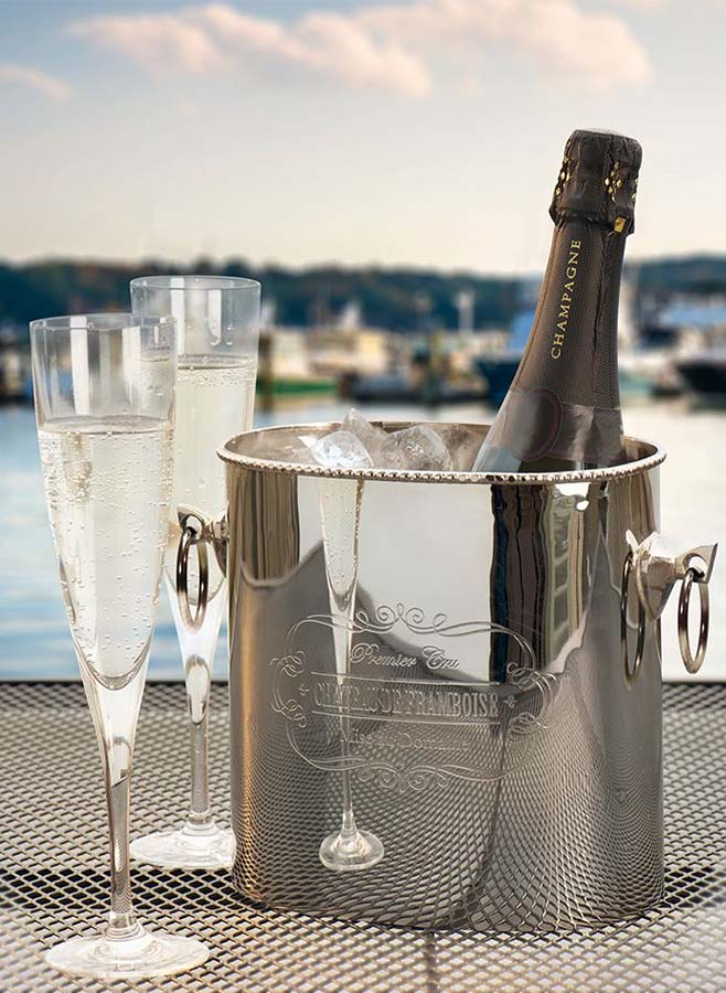 Vacker vinkylare/ champagnebowl