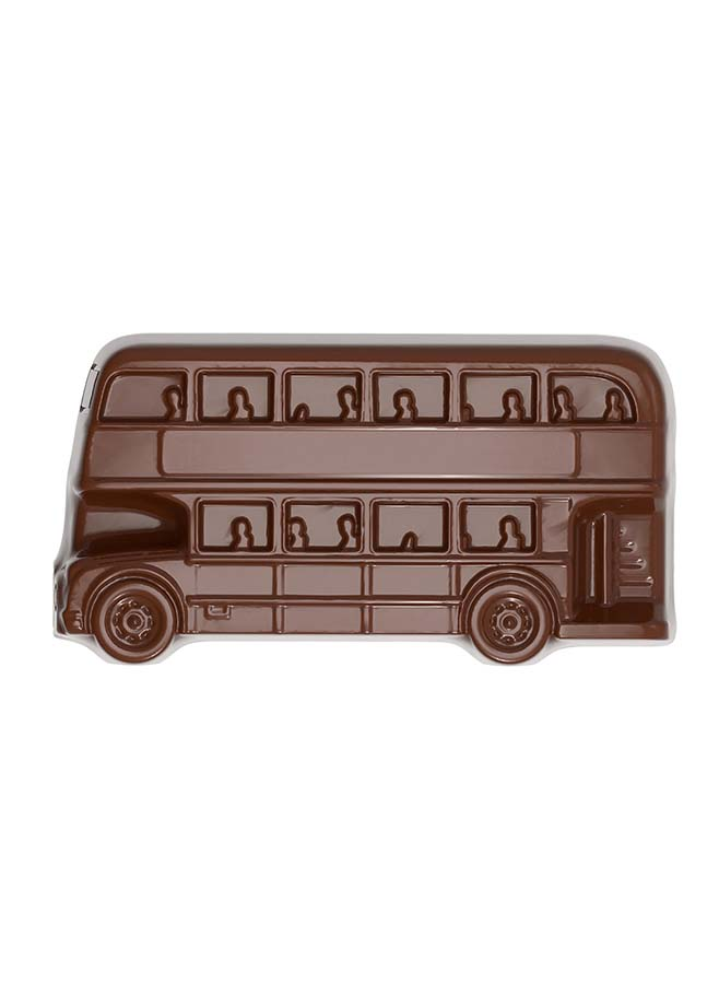 Chokladform Dubbeldäckare Londonbuss